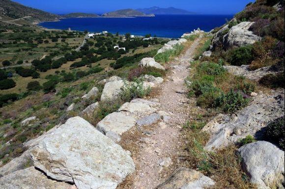 !Path from Megalo Chorio to Agios Antonios Bay