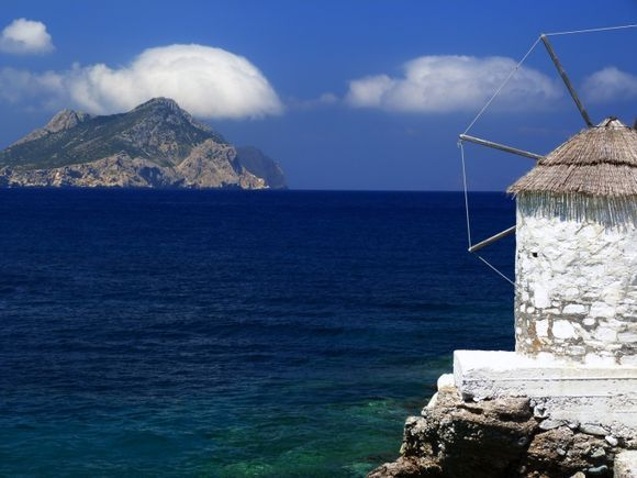 Windmill and Aegean