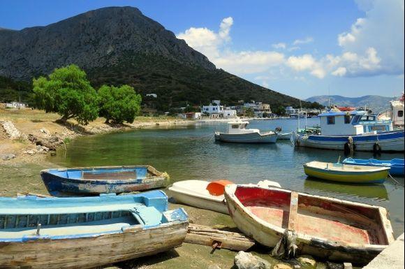 Harbour, Telendos island