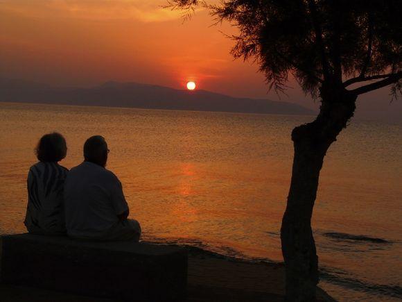 Sunset in Megalochori