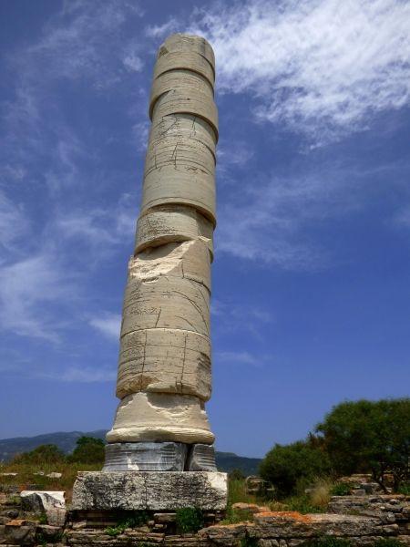 Single column, Hellinistic Temple