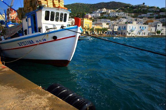 Fishing boat, Agia Marina