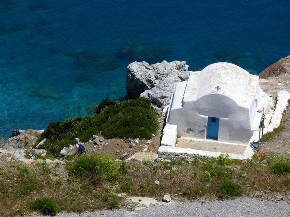 Agia Anna coastal church