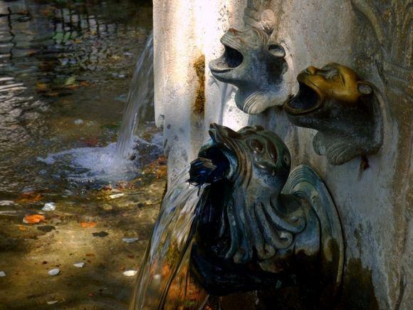 Fountain details