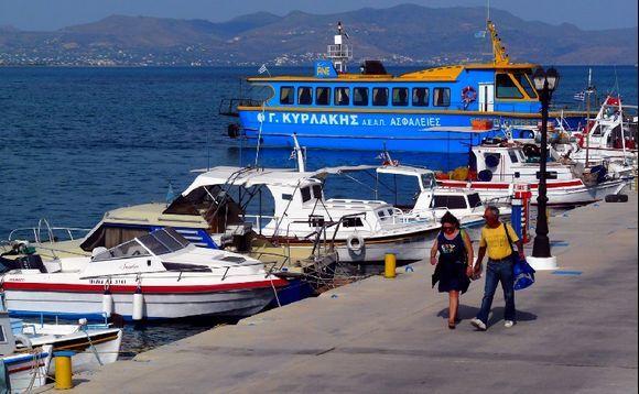 Harbour, Megalochori