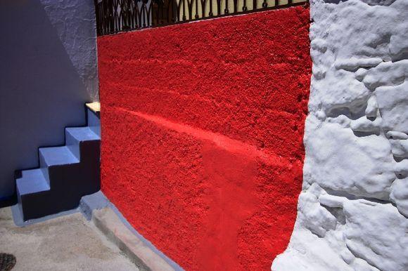 Colourful corner in Archangelos village