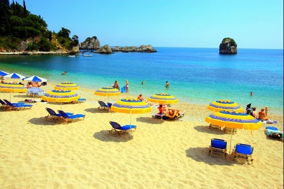 Beach in Parga