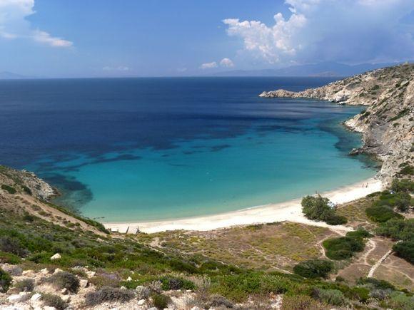 The fantastic Livadi beach
