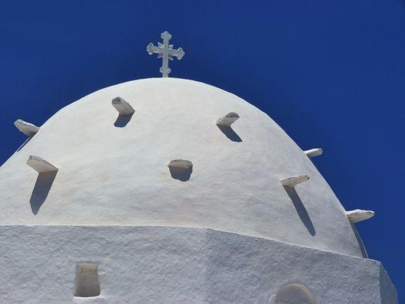 White dome, Agia Irini