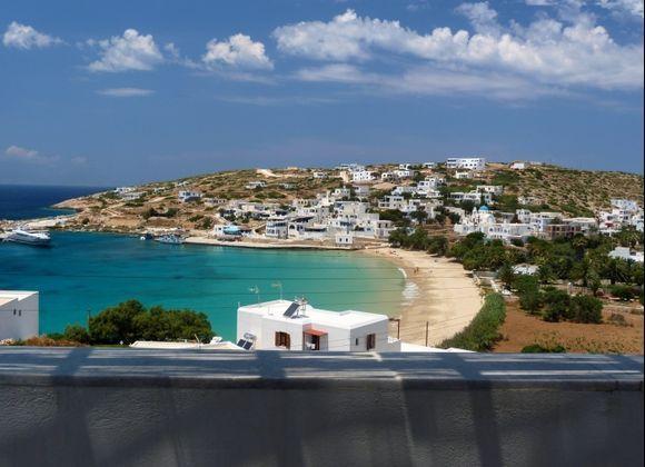 Donoussa scenery, Stavros beach