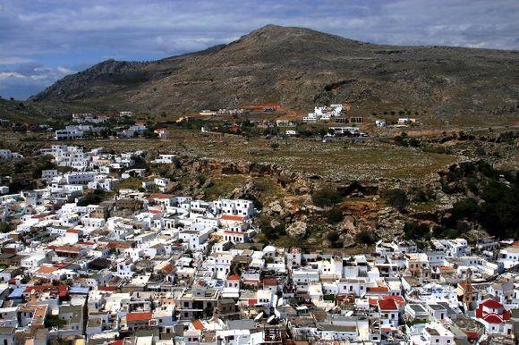 Lindos scenery