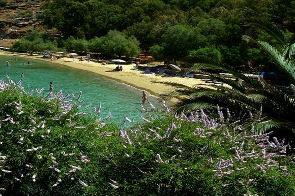 Gialiskari sandy beach