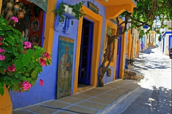 A street in Agia Marina