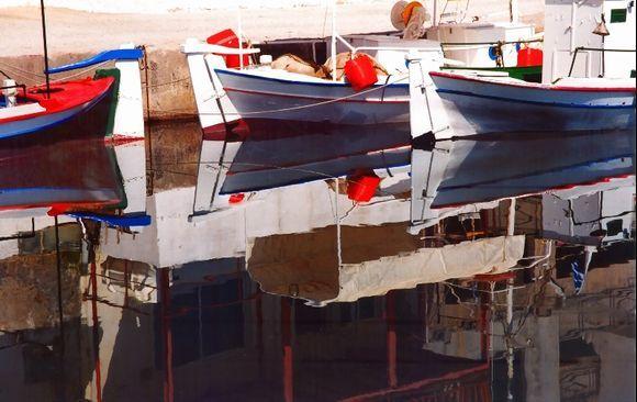 Fishing boats, Kolimbari, Western Crete