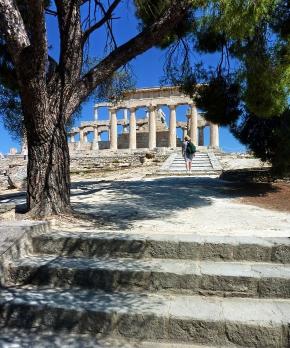 Entrance to Aphaia temple