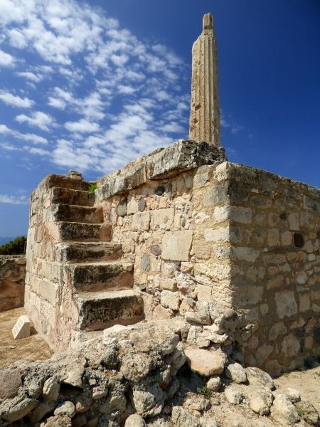 Kolonna, Temple of Apollo. Aegina Town