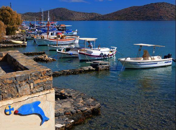 Fishing boats, Elounda, Crete