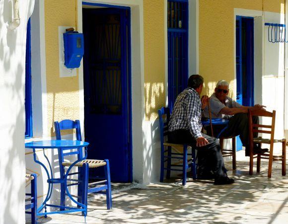 Kafeneio, Koronos