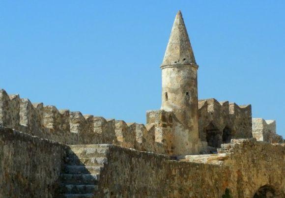 the old citadel of Nafpaktos...