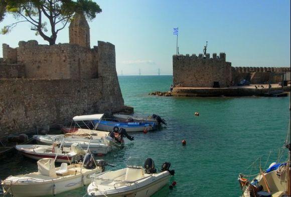 Nafpaktos harbour...