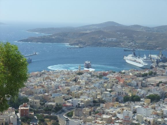 view from ano syros