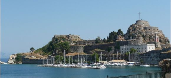 Corfu Town 9th August 2013