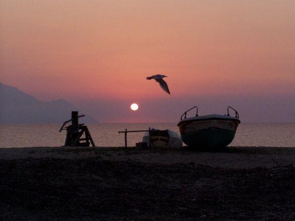 Sunrise on Sarti