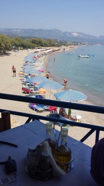 Karlovassi  Beautiful View at the Beach
