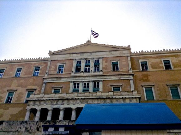 The Parliament in Athens