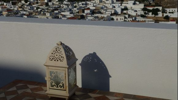 Small lamp with Lindos