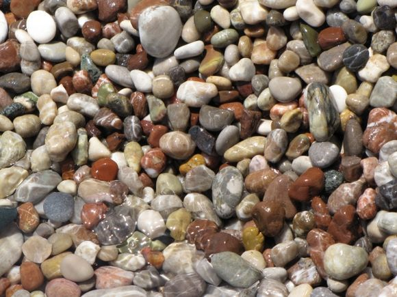 on the beach of traganou