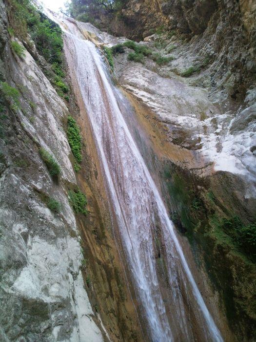 Waterfall at Nidri