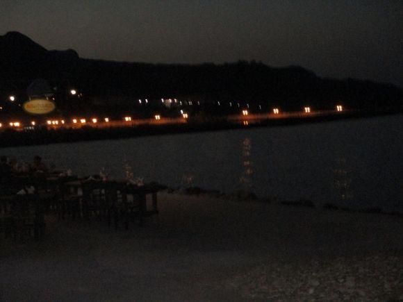 Kolimbari at night