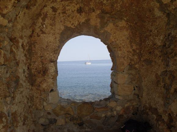Boat at Chania
