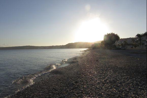 Sunrise at Ixia