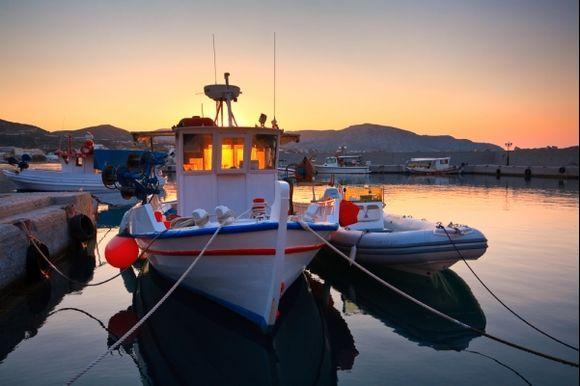Makri Gialos harbour.