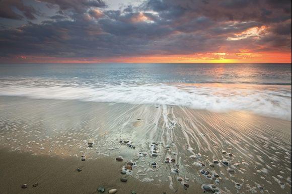 Winter evening romance on the Diaskari beach. for more visit www.milangondaphotogrpahy.com