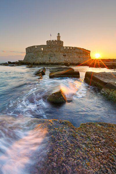 sunrise at fort of st. nicholas