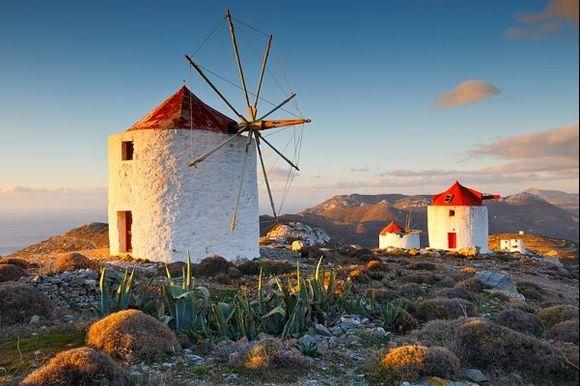 windmills of amorgos