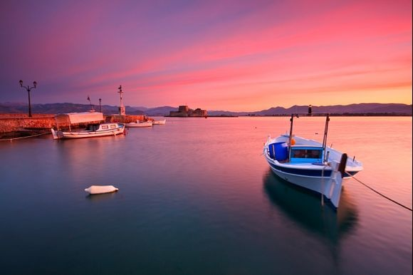 weekend in nafplio - 2 different evenings and two different mornings