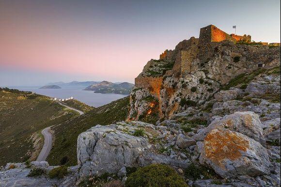 castle on leros island