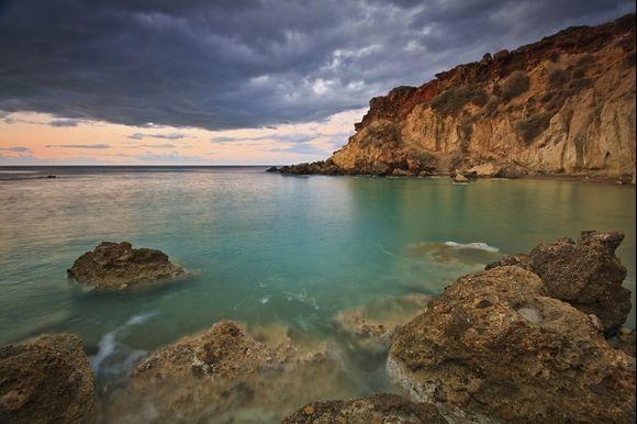 morning colours of Crete. www.milangondaphotography.com