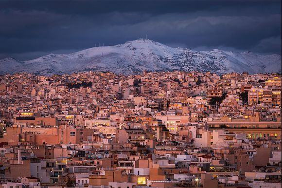 penteli mountain