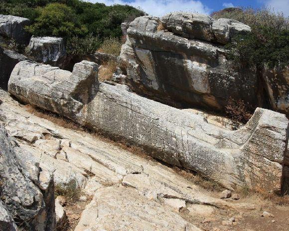 The Kouros of Apollonas
