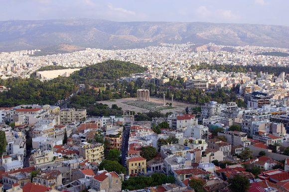 Olympic Zeus Temple