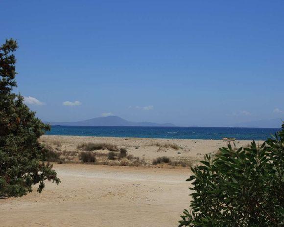 Pirgaki beach from a small tavern