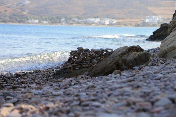 Found in a small beach near Molos