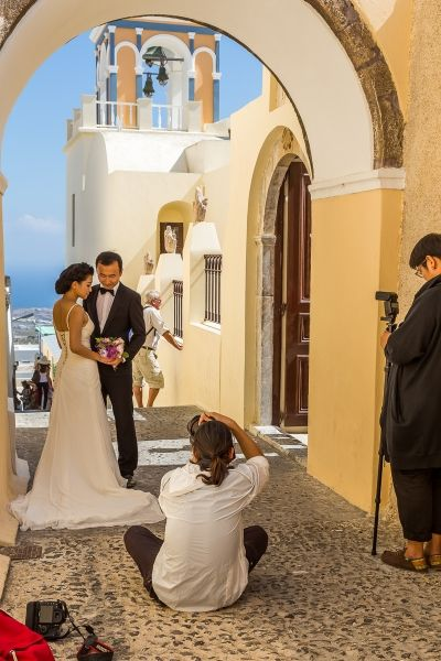 There was a weddingshoot going on in every street-corner.