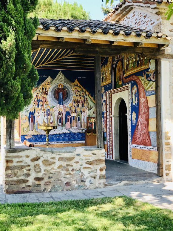 Holy Convent of the Annunciation of the Virgin. Ormylia. Halkidiki