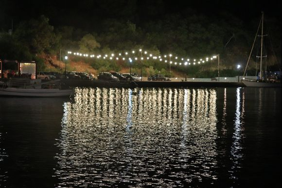 Amazing light reflection on Frikes Harbour